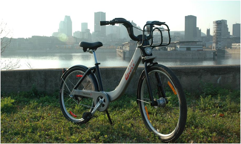 A closer look at the BIXI in Montreal