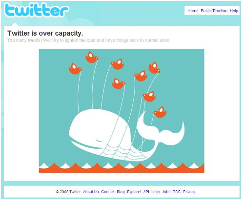Twitter is down