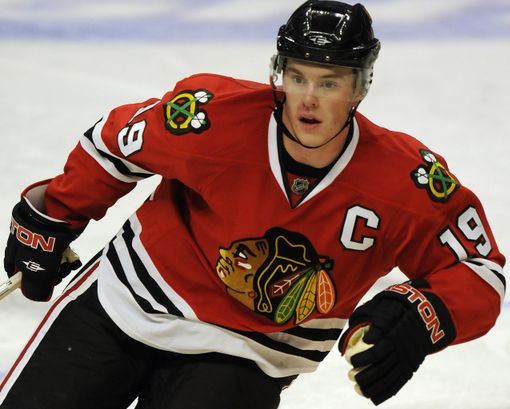 Jonathan Toews of the Chicago Blackhawks; certainly a must have for every pooler