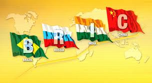 BRIC countries: Brazil, Russia, India and China
